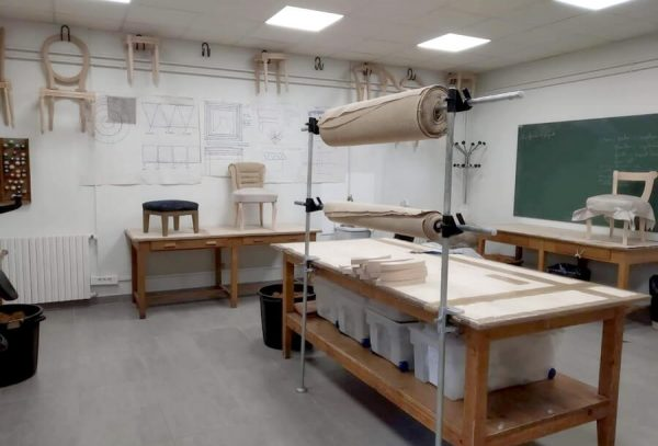 Formation Tapissier siège Lycée François Villon 75014